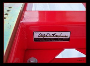 Bike Jig Serial Number